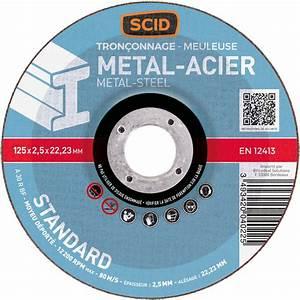 Disque A Tronconner : disque tron onner standard scid m taux diam tre 125 ~ Dallasstarsshop.com Idées de Décoration