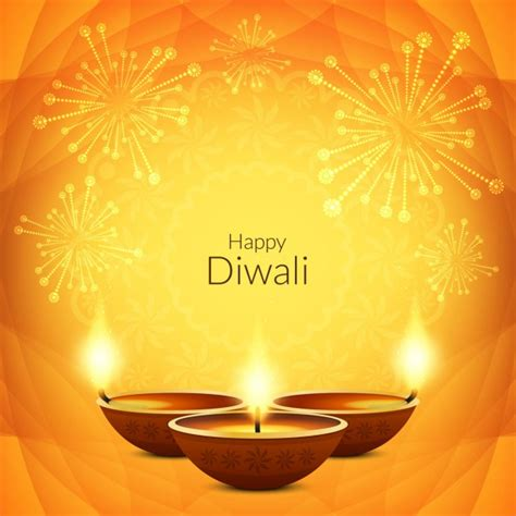 diwali greeting card vectors   psd files