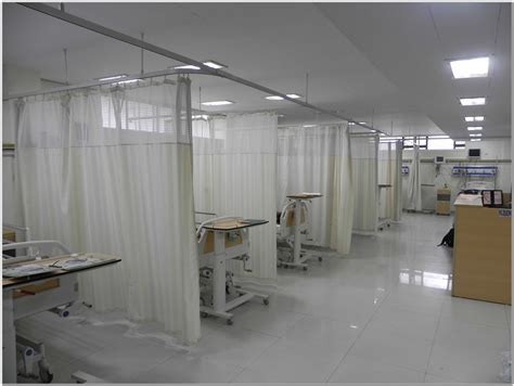 hospital curtain track system curtains home design