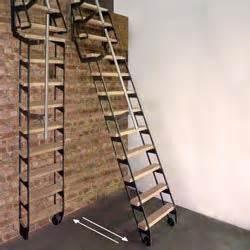 Escalier Escamotable Isolé Point P by Echelle De Meunier D 233 Pliable Gain De Place Pinterest