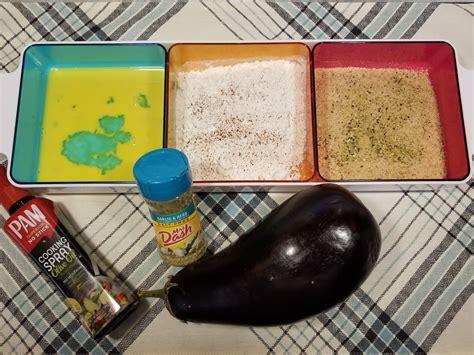 eggplant air fryer recipe crispy fries parmesan recipes