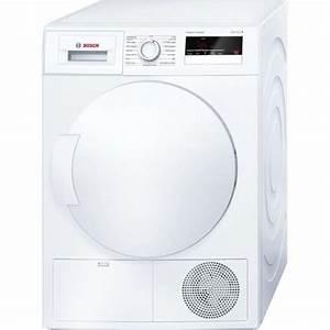 Seche Linge Condensation Classe A : bosch wth83200ff s che linge 8 kg pompe chaleur ~ Premium-room.com Idées de Décoration