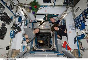 Photo: Crawling Into Crew Compartments On Orbit - SpaceRef