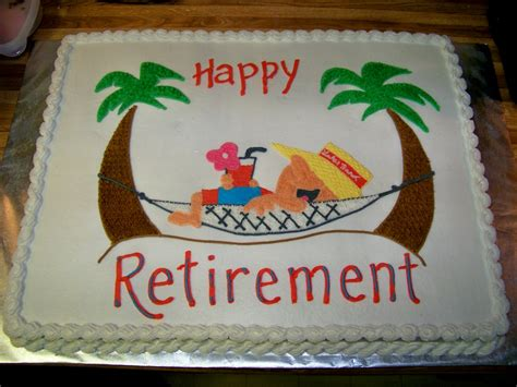 retirement cake ideas colorado peak politics retirement cake