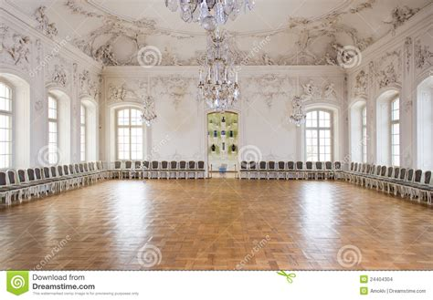 great hall ballroom  rundale palace stock images image