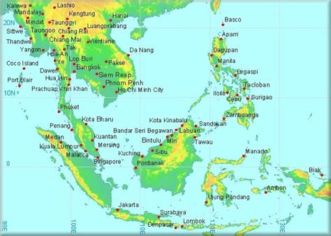 climatological information  south east asia