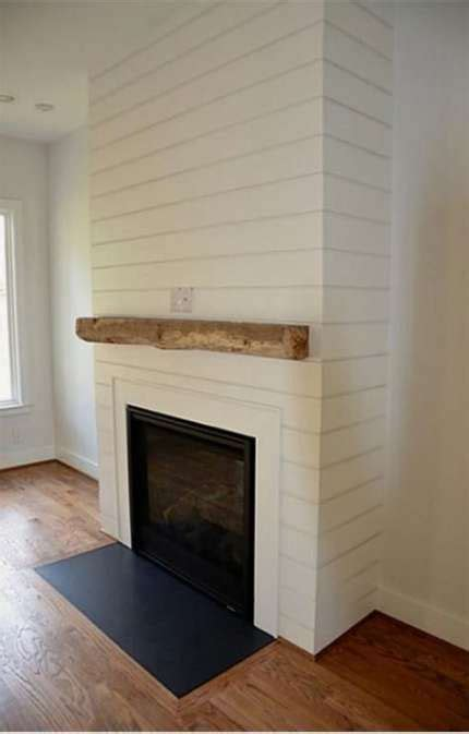 ideas farmhouse fireplace shiplap joanna gaines