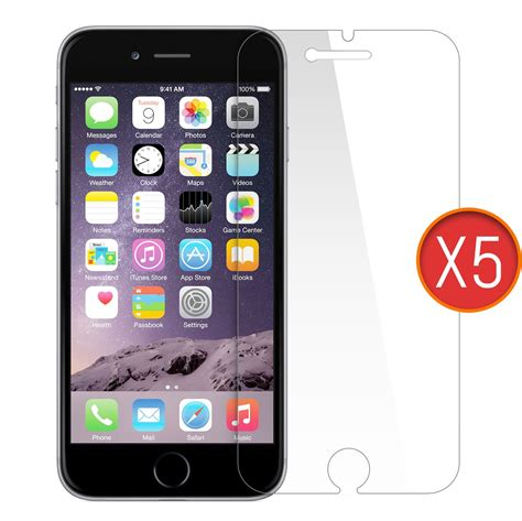 screen for iphone 6 5 in 1 screen protector for iphone 6 plus orzly
