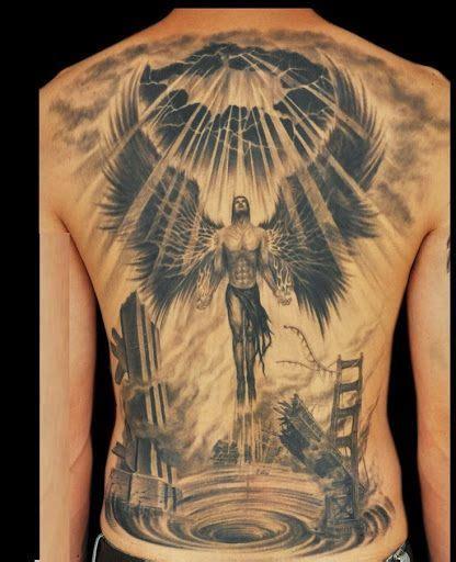angel  death  tattoo angel tattoos  men