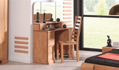 coiffeuse design pour chambre coiffeuse en bois massif pour chambre a coucher en bois