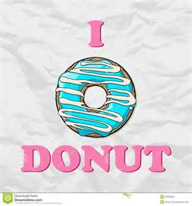 Cartoon Donut