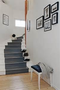 Escalier Bois Peint En Gris by Comment Repeindre Un Escalier Bricobistro