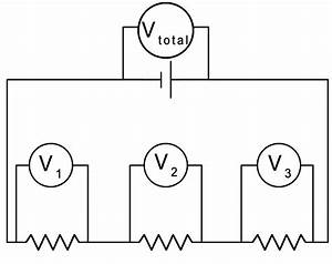 current electricity With potential change in a series circuit