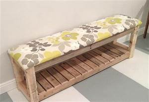 DIY Reclaimed Wood Pallet Bench - Mudroom Bench 99 Pallets