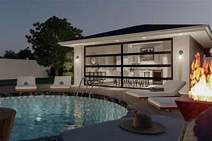 Plan, 62970dj, Poolhouse, Or, Backyard, Work