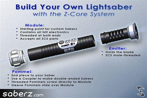 design your own lightsaber saberz build your own lightsaber