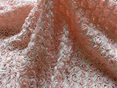 d馮lacer en cuisine 3d fleur de mousseline rosette tissu en mousseline de soie dentelle tissu romantique robe de mariée tissu props toile de fond