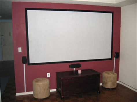diy projector screens part iii lets flok