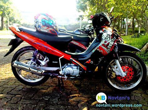 Modifikasi Motor Jupiter Z 1 by Motor Yamaha Jupiter Z Modifikasi Trail Thecitycyclist