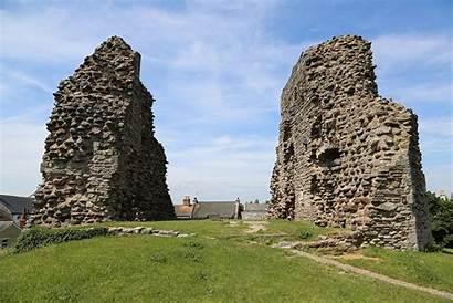 Christchurch Castle Walls Dorset England Wikimedia Wikipedia