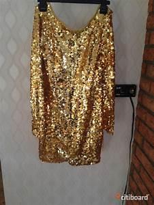 Paljettklänning guld