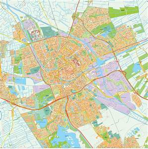 Digital City Map Groningen 397