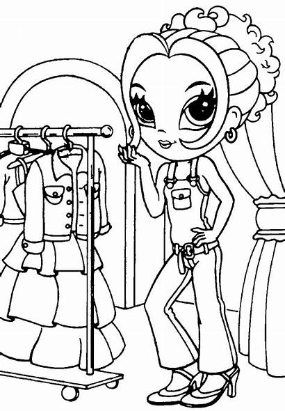 Coloring Pages Frank Lisa Printable