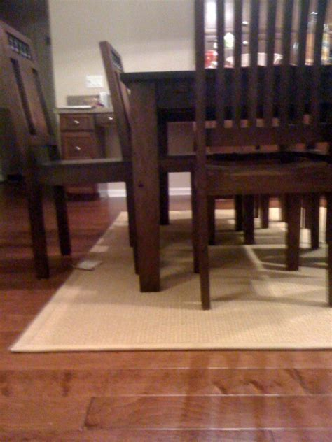 rug under dining table dining table area rug size for dining table