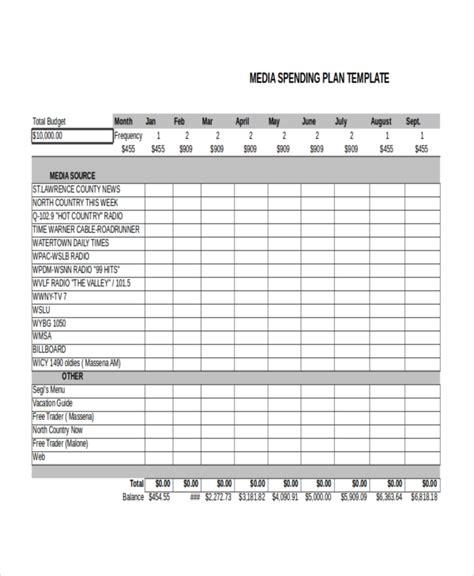 media plan template advertising plan template 7 free word excel pdf document downloads free premium templates