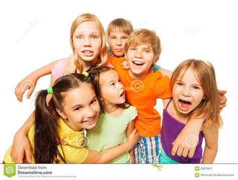 Group Photo Of A Six Kids Stock Photo - Image: 43079917