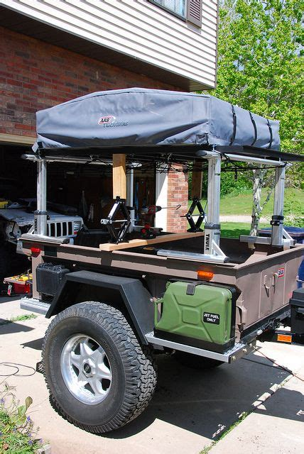 jeep utility trailer offroad 416 trailer jacks by drmoab via flickr