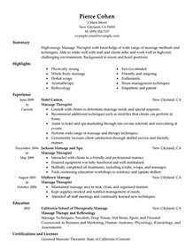 inspiring therapy resume ideas