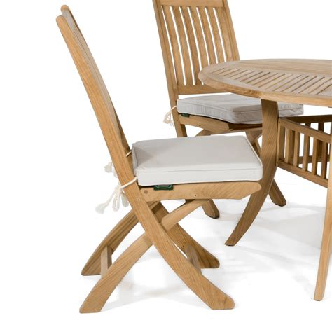 sunbrella dining chair cushion westminster teak outdoor