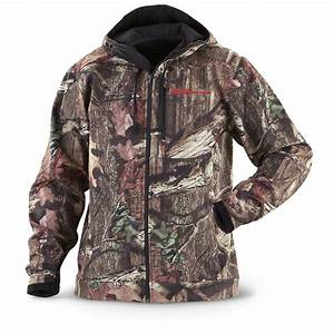 Guide Gear U00ae Silent Adrenaline Jacket  Mossy Oak Break