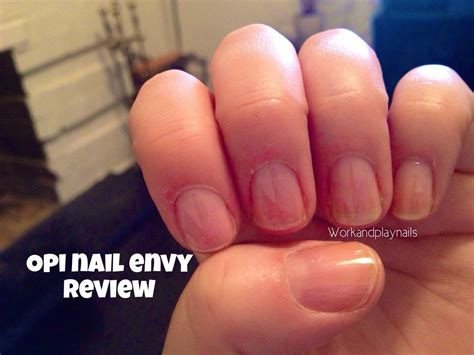 Opi Nail Envy Before And After