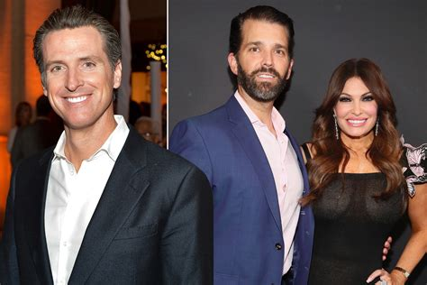 guilfoyle gavin kimberly newsom jr trump donald ex dating don wife interesting finds governor his getty california feudal newsome running