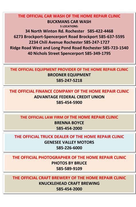 wham home repair clinic wham home repair clinic february 2018 newsradio wham 1180