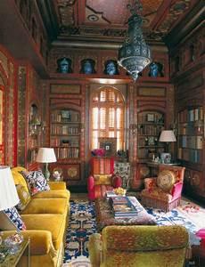Bohemian, Style, Living, Room