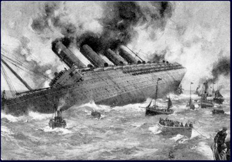 when did the lusitania sink today in history us declares war on germany enters wwi