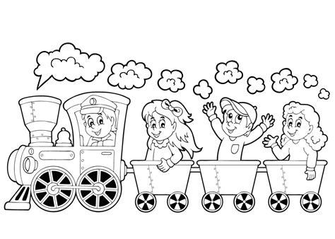 Kleurplaat Ouder by Kleurplaten Kleurplaat Trein De Leukste Treinen
