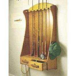 fishing rod rack downloadable plan