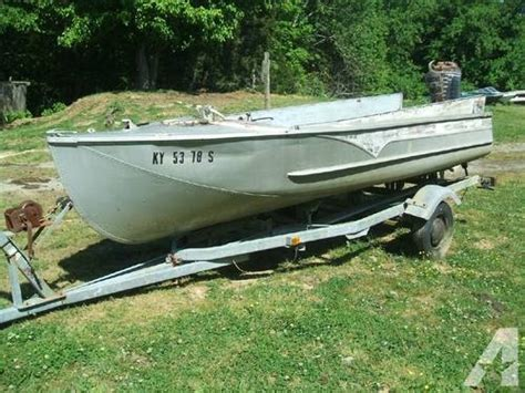 Used Boat Parts Kentucky by 1957 Wolverine 16 Aluminum Boat For Sale In Bryan