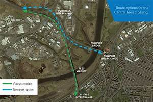 Plan For New Viaduct Across River Tees To Ease A19 And A66