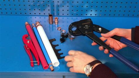 iws clk pex crimping tool kits operation video
