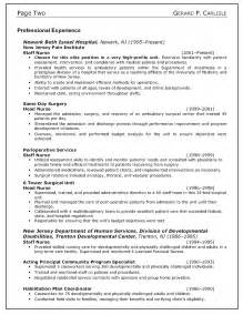 resume tips for nurses top 10 resume exle writing resume sle