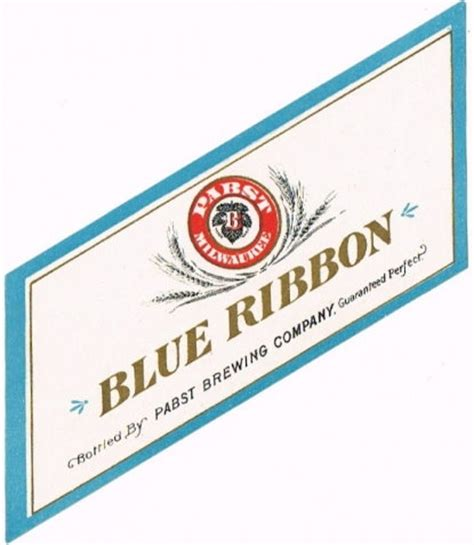 When pabst blue ribbon launched a whiskey, people raised their eyebrows. 32 Pabst Blue Ribbon Label - Labels Database 2020
