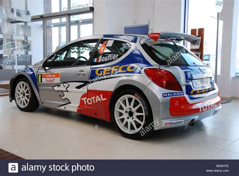 Peugeot Rally by Peugeot 207 S2000 Bryan Bouffier Rally Car Exterior
