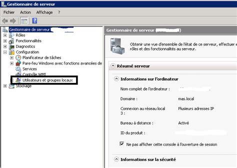 acces bureau a distance autoriser l 39 accès à un utilisateur bureau à distance