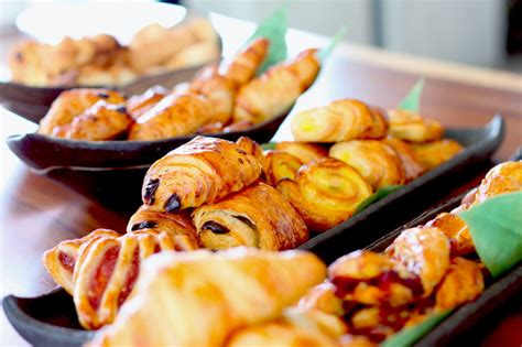 baked canapes breakfast buffet twist catering