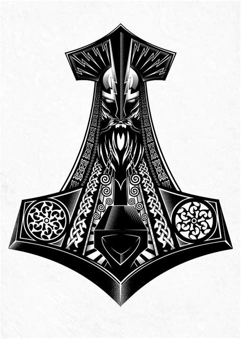 thors hammer by andrewstrauss on deviantart